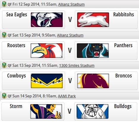 20140912 - Programme 1er tour play-offs NRL
