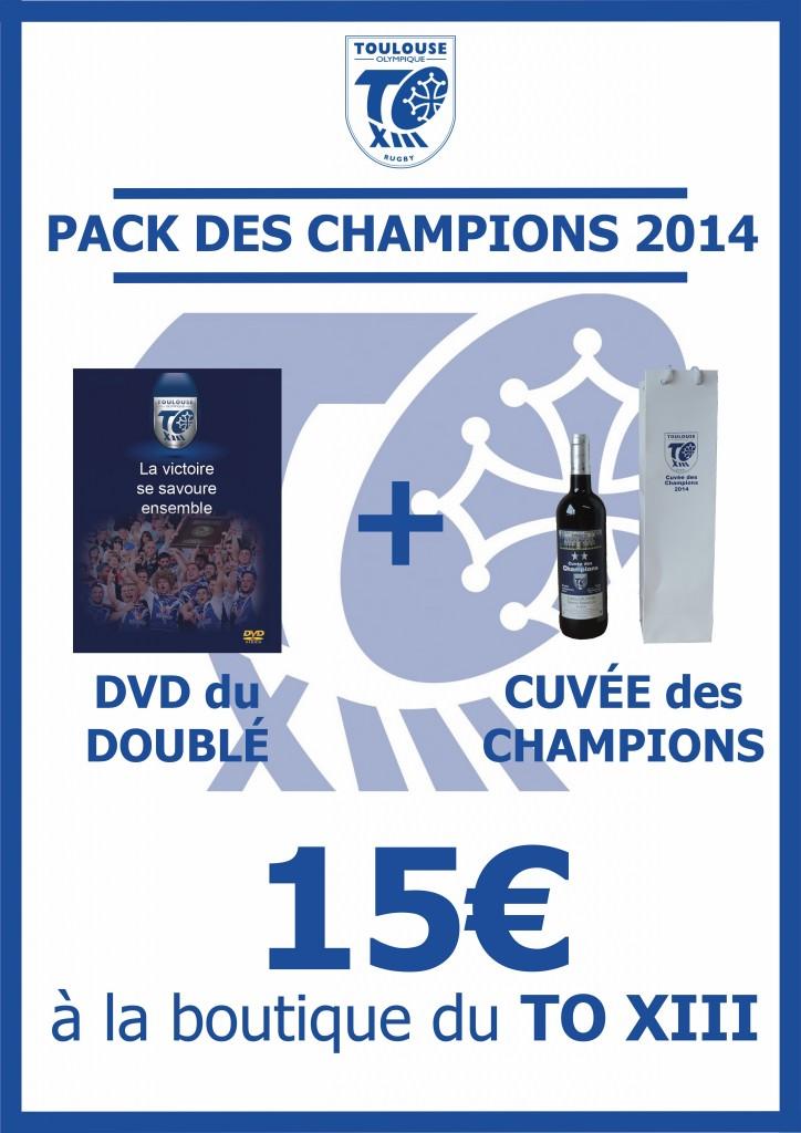 Affiche Pack des Champions