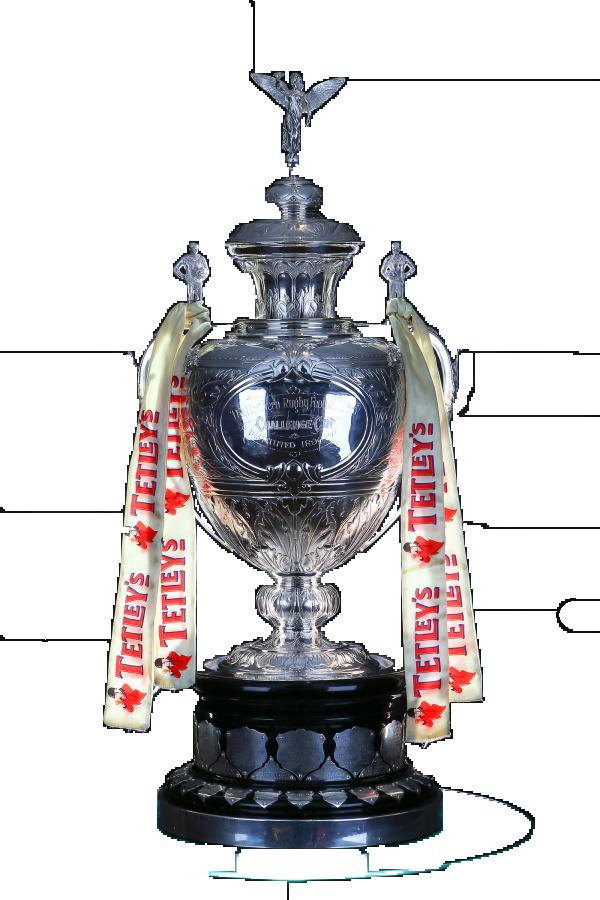 Challenge Cup Trophy détouré