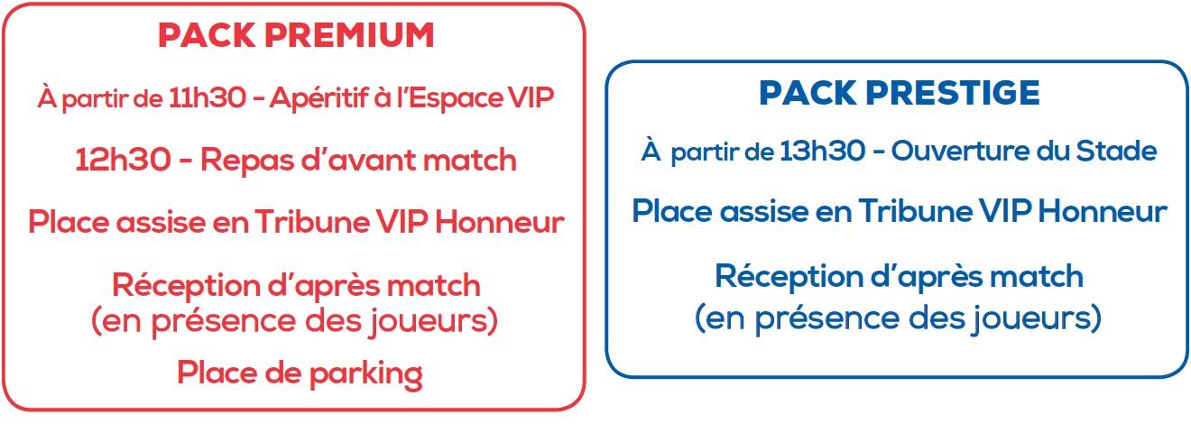 Packs Premium & Prestige