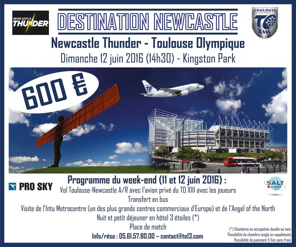 Flyer Newcastle
