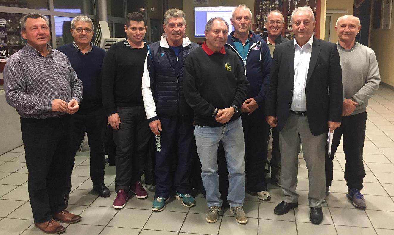 Les dirigeants des différents clubs Toulousains unis pour le développement du XIII - © TO XIII